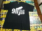 911 was an inside job t shirt NWO  WTC World trade center twin towers NYPD FDNY