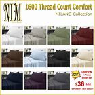 Luxurious 1600 TC Softness, Deep Pocket, 3 or 4 pc BED SHEET SET DUVET COVER SET <br/> | SALE up to 65%  | FREE Shipping | FACTORY Direct |