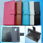 For ACER Liquid Z500--Wallet Folder Stand Flip Folio PU Leather Case Cover