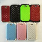 Studded Diamond Case Cover for Samsung Galaxy Note 2