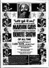 0353  Vintage Music Poster Art  Marvin Gaye Benifit Show  *FREE POSTERS