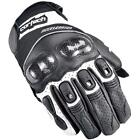 Cortech Accelerator 3 Motorcycle Glove Black/White all Sizes
