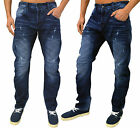 Mens Humor Jeans Designer Zuniga Tapered Fit Stylish Denim Blue 8215501 Pants