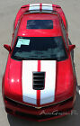 Factory Style Racing Stripes Vinyl Graphic Decals Pro 3M for 2014-2015 Camaro SS