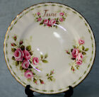 ROYAL ALBERT ' FLOWER OF THE MONTH  ' SIDE PLATE - ENGLISH BONE CHINA