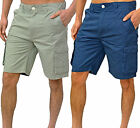 Mens Duck & Cover Shorts Casual Cargo Cotton Slim Fit Chino Bottoms Pants Cusack