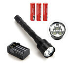 Rechargeable Trustfire 6000Lm 3x CREE XML T6 LED Flashlight Torch 18650 Hunting