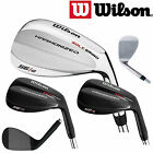 WILSON HARMONIZED BLACK OR CHROME WEDGES *NEW* GAP SAND LOB WEDGE 52,55,60 MENS