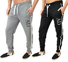 Mens Designer Fleece Skinny Slim Fit Joggers Bottoms Pants Trouser Jogging Harem