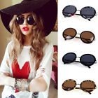 Unisex Women Mens  Fashion Vintage Style Sunglasses Glasses Round Metal Frame