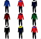 Givova Visa Full Tracksuit Mens Training Warm Up Pockets Black Red Navy Blue Opt