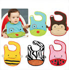 2015 Waterproof Lovely Zoo Animal Style Story Baby Burp Clothes Bibs 11 Designs