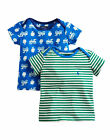 *BNWT* Baby Joules Boys Eric Two Pack T-Shirts - Railway - NEW FOR SS15