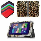 Folio Premium PU Leather Case Stand Cover for Winbook TW700 7 Windows 8.1 Tablet
