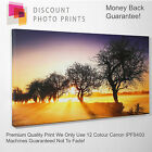 YOUR OWN PHOTO CANVAS. PERSONALISED QUALITY FRAMED PRINT -LARGE SIZES - ADD TEXT