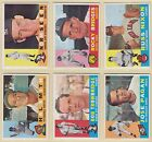 1960 , Topps , Includes some #'s from 11 to 279 , Pick From Drop Down List