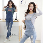 New Women's Casual Slim Denim Overall Strap Pants Sling Jeans Jumpsuits Trousers