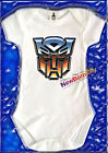 AUTOBOTS Transformers baby one piece cartoon 80s 100% COTTON gro onesie  gift