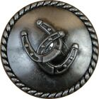 Horseshoes and Rope Drawer or Cabinet Pull Western Southwest Rustic Texas Horse