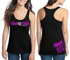 MOTO WIFE MX NUMBER PLATE RACERBACK TANK TOP SHIRT JUST RIDE MOTOCROSS
