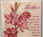 Mother's Day Decorative Tile Plaque MOUNT EASEL NEW POEM GIFT LOVE FREE SHIP