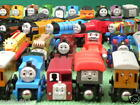 WOODEN LOTS of individual THOMAS WOODEN TRAINS comp.ELC BRIO Excellent Choice