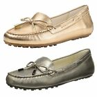 Michael Kors Womens Daisy Moc Toe Slip On Lace Fashion Flats Loafers Shoes