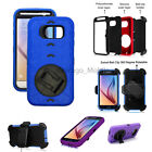 New Triple Heavy Duty Kick Stand /w Holster Belt Clip Case for Samsung Galaxy S6