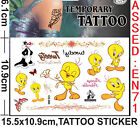 lot tweety Stickers DIY Children's TEMPORARY TATTOO sticker Party