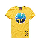 Superdry Hooper Surf Men's T-Shirt Bright Lemon m10ka050d1-qxa