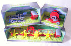 FARM WORLD Agricultural Toy Model Tractor Machinery Plough Water Pipe Hay Turner