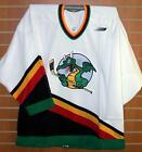 San Antonio Dragons IHL Bauer Authentic On Ice Game Issued White Hockey Jersey