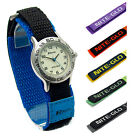 Ravel Kids Easy-Read Nite-Glo Watch Hook & Loop Band Choice of 6 Colours