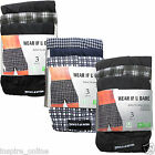 9 PAIRS MENS BUTTON FLY SOFT JERSY BOXER SHORTS UNDERWAER PANTS TRUNKS BRIEFS