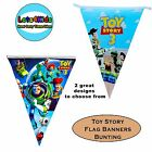 TOY STORY WOODY BUZZ LIGHTYEAR PARTY FLAG BANNERS - PARTY SUPPLIES - 1 PACK