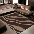 SHAGGY SUPREME Multicolored Mats RUGS / CARPETS in 120 x 170 cm FREE POSTAGE
