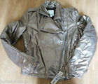 Diesel girl coat  XXL (15-16 y) New BNWT gold jacket designer metallic women