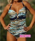 Sexy Chain Print green One Piece MONOKINI SWIMSUIT SWIMWEAR UK Size 10 12 14