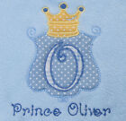 PERSONALISED BABY GIRL BOY PRINCESS PRINCE NAME BIB CHRISTENING GIFT NEWBORN NEW