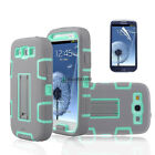 Shockproof Hybrid Phone Case Cover With Kickstand For Samsung Galaxy S3 i9300