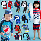"VaenaitBaby Newborn Toddler Kids Rashguard Swimming set ""Boys swim suit"" 2T-7T"