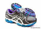 Asics Gel-Nimbus 14 (D) width running shoes for women - Lightning / White / Blue