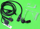 Transparent Tube Earphone For Motorola radio MTH850 MTP850 MTS850