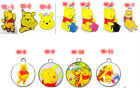lot DIY Winnie the pooh cute bears Metal Charms Pendant Earrings Jewelry Making