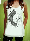 Sun Kissing Moon Summer Dope Rocker Womens Tank Top Sleeveless T Shirt Tshirt