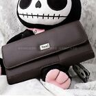 LEATHER HORIZONTAL CARRYING POUCH CASE COVER HOLSTER BELT CLIP FOR CELL PHONE