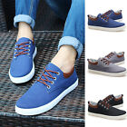 Hot Sale Men Casual boat Canva Shoes Flat Loafer Lace Up Low-Top Board Sneaker