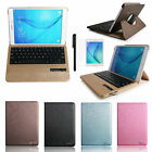 360 Swivel Bluetooth Keyboard Leather Case Cover For Samsung Tab A 8.0 T350 T355