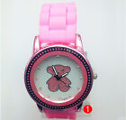 Geneva Silicone Watches Quartz Watches Sport Wrist Watch Couple Watches