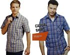 New Mens Shirt Short Sleeve Casual Button Up Summer Luxury Designer Fashion Top